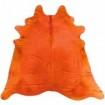 Peau de vache orange